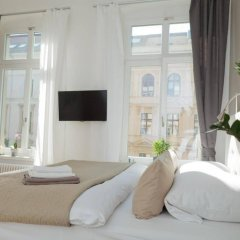Отель Stadtbleibe Apartments Германия, Лейпциг - отзывы, цены и фото номеров - забронировать отель Stadtbleibe Apartments онлайн комната для гостей фото 4