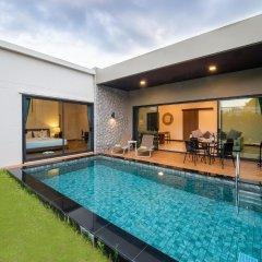 Отель Вилла Acasia Pool Villa Resort Phuket Бухта Чалонг бассейн фото 3