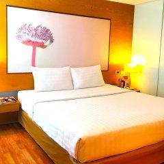 I Residence Hotel Silom 3* Номер Делюкс с различными типами кроватей фото 35