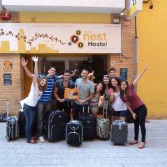 Yellow Nest Hostel Barcelona гостиничный бар