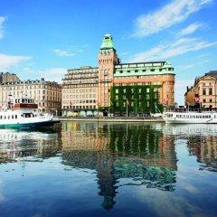 Отель Radisson Blu Strand Стокгольм приотельная территория фото 2