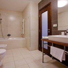 Golden Fish Hotel Apartments Пльзень ванная