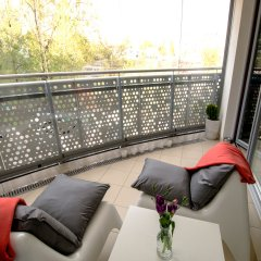 Отель erApartments Wronia Oxygen Польша, Варшава - отзывы, цены и фото номеров - забронировать отель erApartments Wronia Oxygen онлайн балкон
