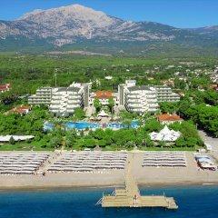Queens Park Resort Турция, Кемер - отзывы, цены и фото номеров - забронировать отель Queens Park Resort онлайн пляж