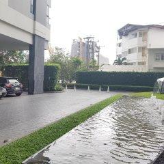 Отель Pattaya Central Sea View Pool Suite Паттайя парковка