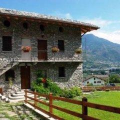 Отель Affittacamere Il Contadino Поллейн балкон