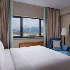 Гостиница DoubleTree by Hilton Almaty комната для гостей фото 4