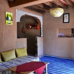 Отель Ecolodge - La Palmeraie Марокко, Уарзазат - отзывы, цены и фото номеров - забронировать отель Ecolodge - La Palmeraie онлайн интерьер отеля фото 2