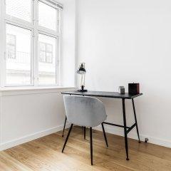 Апартаменты 3-bedroom Apartment in Copenhagen Копенгаген балкон