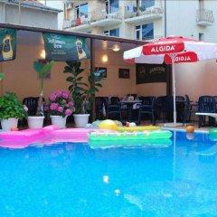 Отель Italia Nessebar Болгария, Несебр - 1 отзыв об отеле, цены и фото номеров - забронировать отель Italia Nessebar онлайн бассейн фото 2