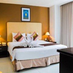 Отель The Patra Hotel - Rama 9 Таиланд, Бангкок - 1 отзыв об отеле, цены и фото номеров - забронировать отель The Patra Hotel - Rama 9 онлайн комната для гостей фото 2