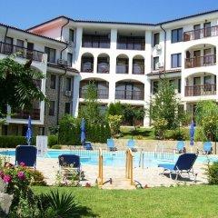 Отель DELFIN Apart Complex Болгария, Свети Влас - отзывы, цены и фото номеров - забронировать отель DELFIN Apart Complex онлайн бассейн фото 3