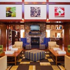 Отель Four Points by Sheraton Columbus Ohio Airport США, Колумбус - отзывы, цены и фото номеров - забронировать отель Four Points by Sheraton Columbus Ohio Airport онлайн интерьер отеля