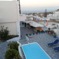 Отель Villa Pavlina Греция, Остров Санторини - отзывы, цены и фото номеров - забронировать отель Villa Pavlina онлайн бассейн