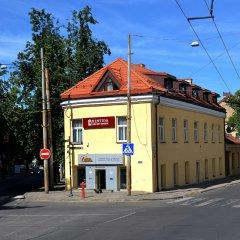 Отель Rentida Guesthouse Вильнюс вид на фасад