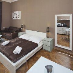 Отель Old Town - Dusni Apartments Чехия, Прага - отзывы, цены и фото номеров - забронировать отель Old Town - Dusni Apartments онлайн комната для гостей фото 3