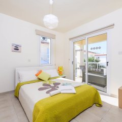 Отель Villa Galina Кипр, Протарас - отзывы, цены и фото номеров - забронировать отель Villa Galina онлайн комната для гостей фото 2