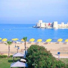 Barbarossa Hotel Турция, Силифке - отзывы, цены и фото номеров - забронировать отель Barbarossa Hotel онлайн пляж фото 2