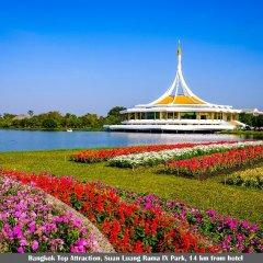 Отель Golden Jade Suvarnabhumi Таиланд, Бангкок - 1 отзыв об отеле, цены и фото номеров - забронировать отель Golden Jade Suvarnabhumi онлайн приотельная территория фото 2