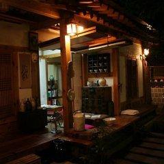 Отель Tea Hanok Guesthouse гостиничный бар