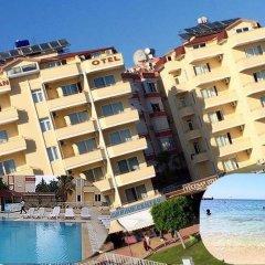 Yucesan Hotel Турция, Аланья - отзывы, цены и фото номеров - забронировать отель Yucesan Hotel онлайн пляж фото 2
