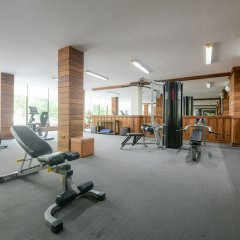 The Route Sriracha Hotel and Residence фитнесс-зал фото 3