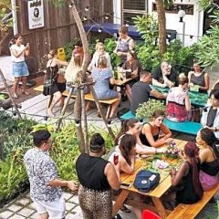 Here Hostel Бангкок фитнесс-зал фото 2