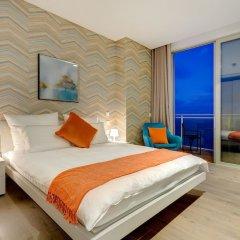 Отель Super Luxury Apartment in Tigne Point, Amazing Ocean Views Мальта, Слима - отзывы, цены и фото номеров - забронировать отель Super Luxury Apartment in Tigne Point, Amazing Ocean Views онлайн комната для гостей фото 4
