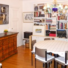 Апартаменты Apartment With 3 Bedrooms in Paris, With Wonderful City View and Wifi Париж гостиничный бар