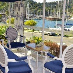 Grand Ata Park Hotel Турция, Фетхие - отзывы, цены и фото номеров - забронировать отель Grand Ata Park Hotel онлайн балкон