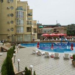Отель Viva Apartments Болгария, Солнечный берег - отзывы, цены и фото номеров - забронировать отель Viva Apartments онлайн бассейн
