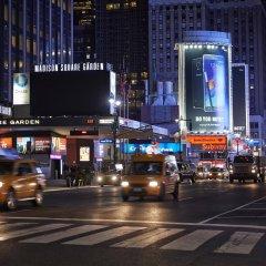 Отель Affinia Manhattan городской автобус