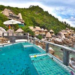 Отель Koh Tao Bamboo Huts Таиланд, Остров Тау - отзывы, цены и фото номеров - забронировать отель Koh Tao Bamboo Huts онлайн бассейн фото 3