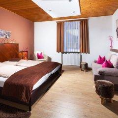 Апартаменты Apartment Auwirt Халлайн комната для гостей фото 5