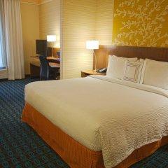 Отель Fairfield Inn & Suites by Marriott Columbus Airport США, Колумбус - отзывы, цены и фото номеров - забронировать отель Fairfield Inn & Suites by Marriott Columbus Airport онлайн комната для гостей фото 2