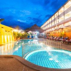 Отель Kata Silver Sand Hotel Таиланд, Пхукет - отзывы, цены и фото номеров - забронировать отель Kata Silver Sand Hotel онлайн бассейн фото 3