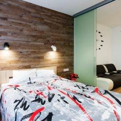 Гостиница CityApartments Lukianivska комната для гостей фото 3