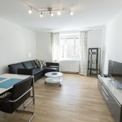 Апартаменты Apartment - Nähe Schottenring Вена комната для гостей фото 2
