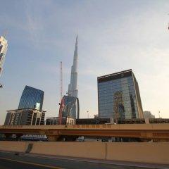 Отель Kennedy Towers - Index Tower Дубай балкон