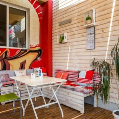 Art Hotel Simona София вид на фасад