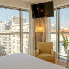 Отель Hesperia A Coruña Centro Испания, Ла-Корунья - отзывы, цены и фото номеров - забронировать отель Hesperia A Coruña Centro онлайн балкон