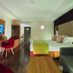 Отель Super 8 Xian Big Wild Goose Pagoda Китай, Сиань - отзывы, цены и фото номеров - забронировать отель Super 8 Xian Big Wild Goose Pagoda онлайн комната для гостей фото 4