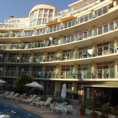 Отель Sunny Holiday Болгария, Солнечный берег - 1 отзыв об отеле, цены и фото номеров - забронировать отель Sunny Holiday онлайн бассейн