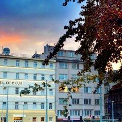 Hotel Merkur Прага балкон