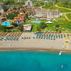 Justiniano Deluxe Resort Турция, Окурджалар - отзывы, цены и фото номеров - забронировать отель Justiniano Deluxe Resort онлайн пляж фото 2