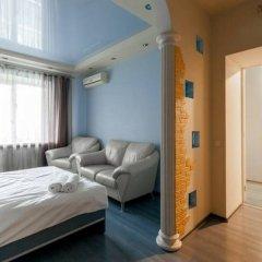 Апартаменты Delegatskaya Apartment Москва комната для гостей фото 4