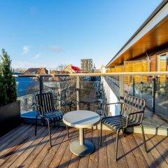 Отель Hestia Hotel Kentmanni Эстония, Таллин - отзывы, цены и фото номеров - забронировать отель Hestia Hotel Kentmanni онлайн балкон