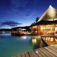 Отель Sofitel Bora Bora Marara Beach Hotel Французская Полинезия, Бора-Бора - отзывы, цены и фото номеров - забронировать отель Sofitel Bora Bora Marara Beach Hotel онлайн бассейн фото 2
