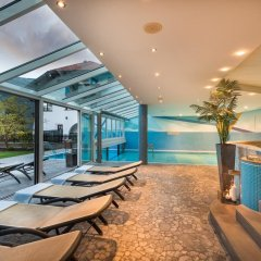 Отель Residence Landhaus Fux Силандро бассейн