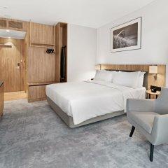 Отель Hilton Garden Inn Vilnius City Centre комната для гостей